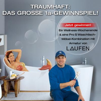 1a gewinnspiel 1a installateur franz pavlis gmbh. Black Bedroom Furniture Sets. Home Design Ideas